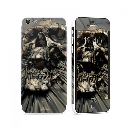 Skull Wrap iPhone 5c Skin