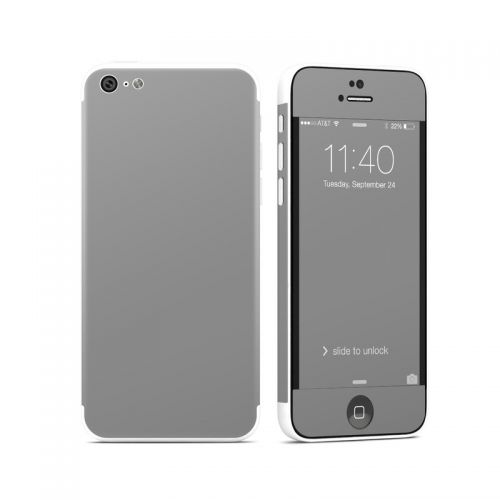 Solid State Grey iPhone 5c Skin