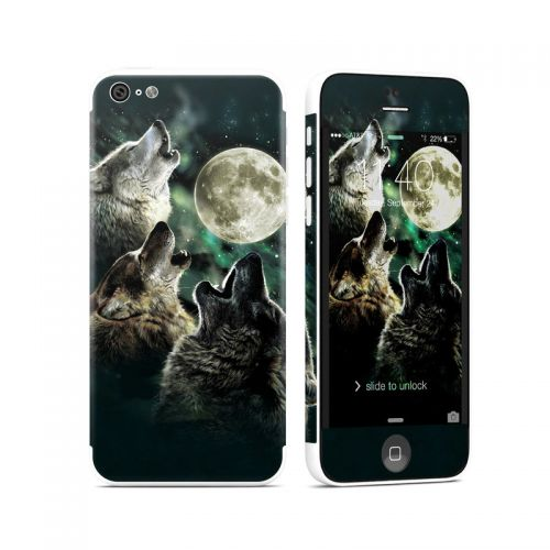 Three Wolf Moon iPhone 5c Skin