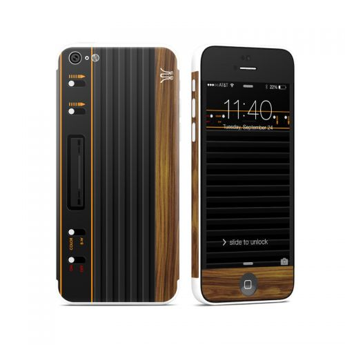Wooden Gaming System iPhone 5c Skin