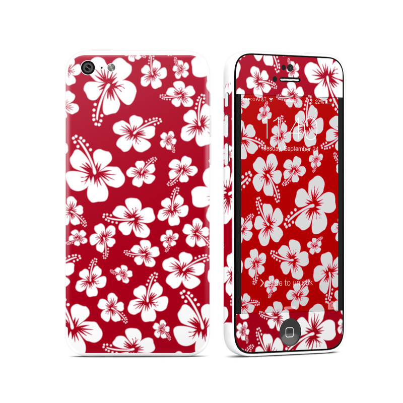 Aloha Red iPhone 5c Skin