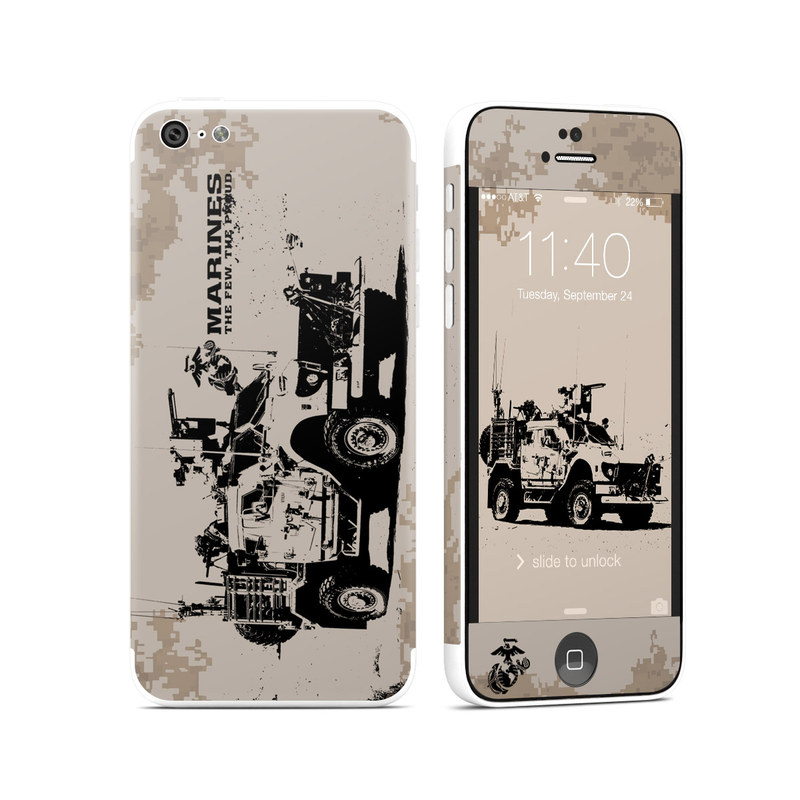 Artillery iPhone 5c Skin