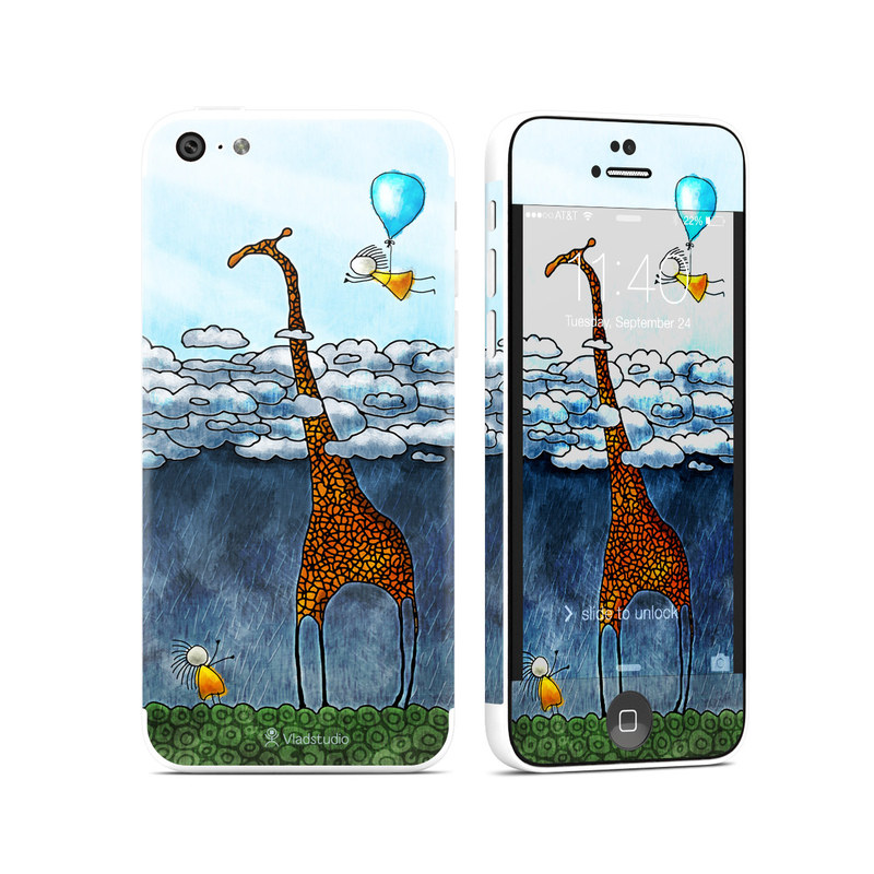 Above The Clouds iPhone 5c Skin