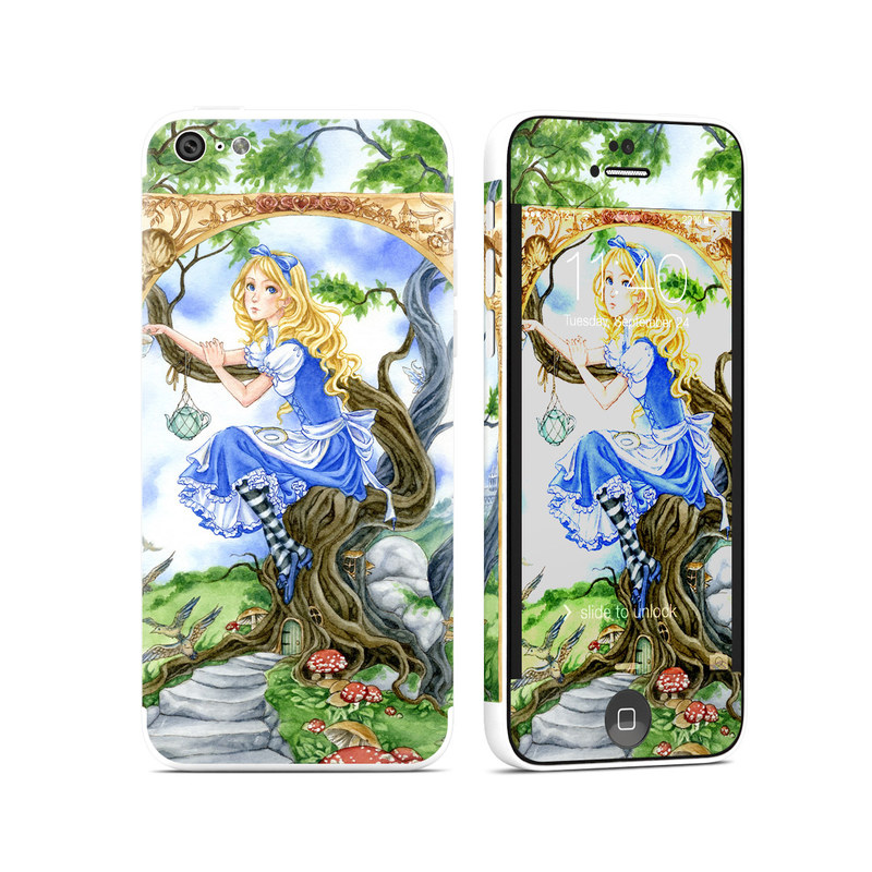 Alice's Tea Time iPhone 5c Skin