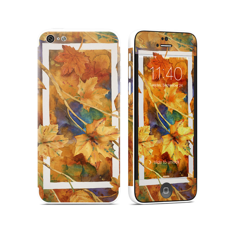 Autumn Days iPhone 5c Skin