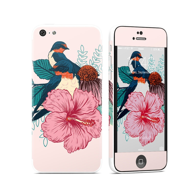 Barn Swallows iPhone 5c Skin