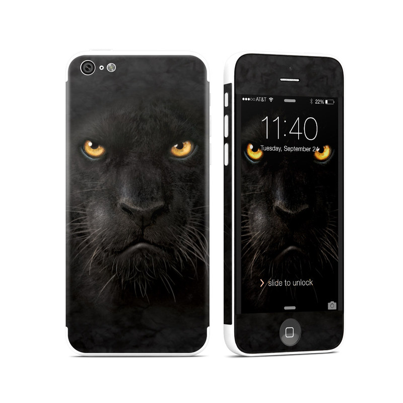 Black Panther iPhone 5c Skin