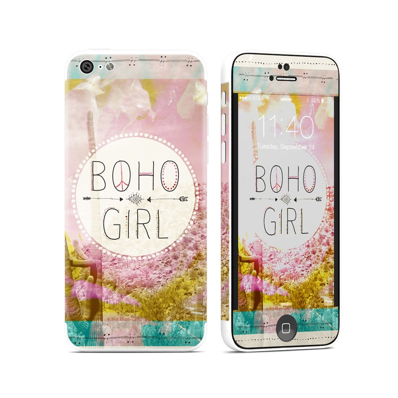 Boho Girl iPhone 5c Skin