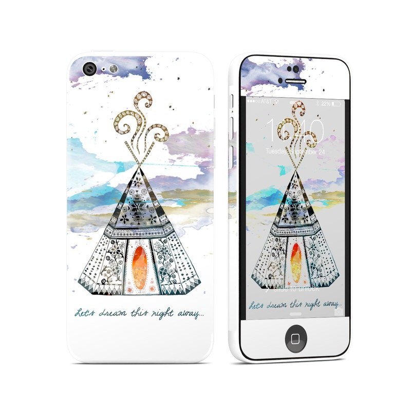 Boho Teepee iPhone 5c Skin