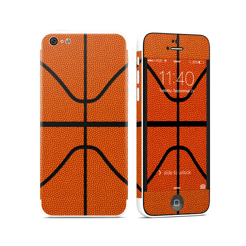 iPhone 5c Skin design of Orange, Basketball, Line, Pattern, Sport venue, Brown, Yellow, Design, Net, Team sport with orange, black colors