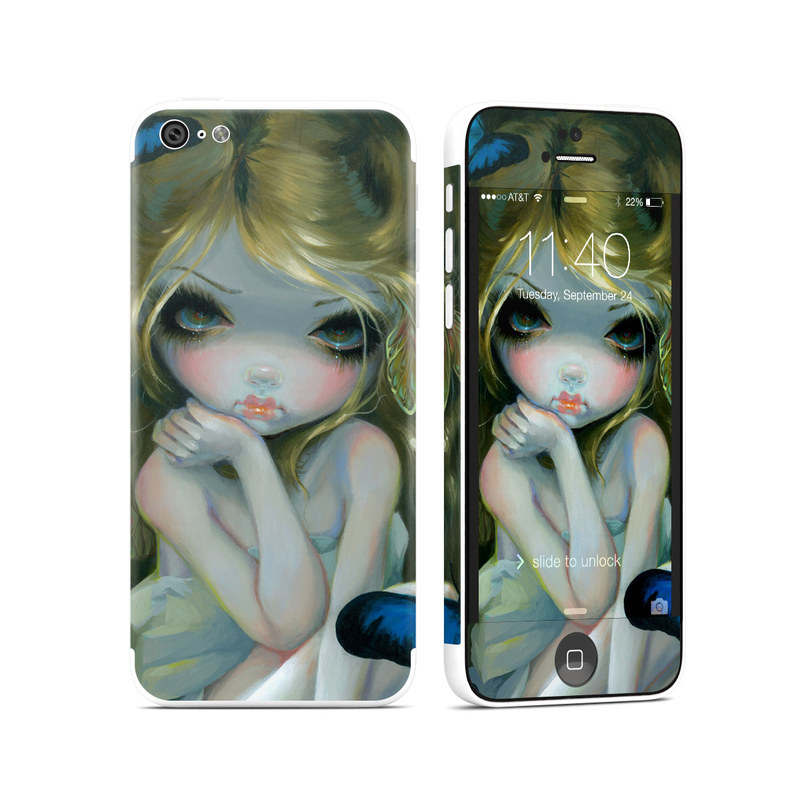 Butterfly Lily iPhone 5c Skin