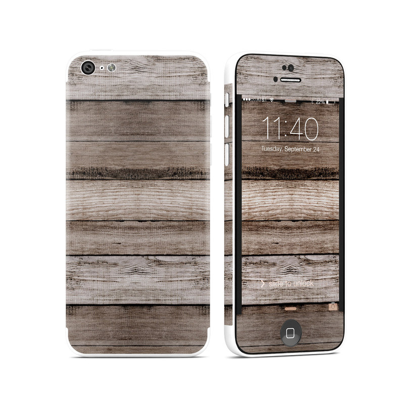 Barn Wood iPhone 5c Skin