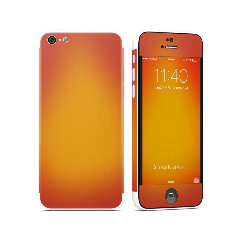 Cherry Sunburst iPhone 5c Skin