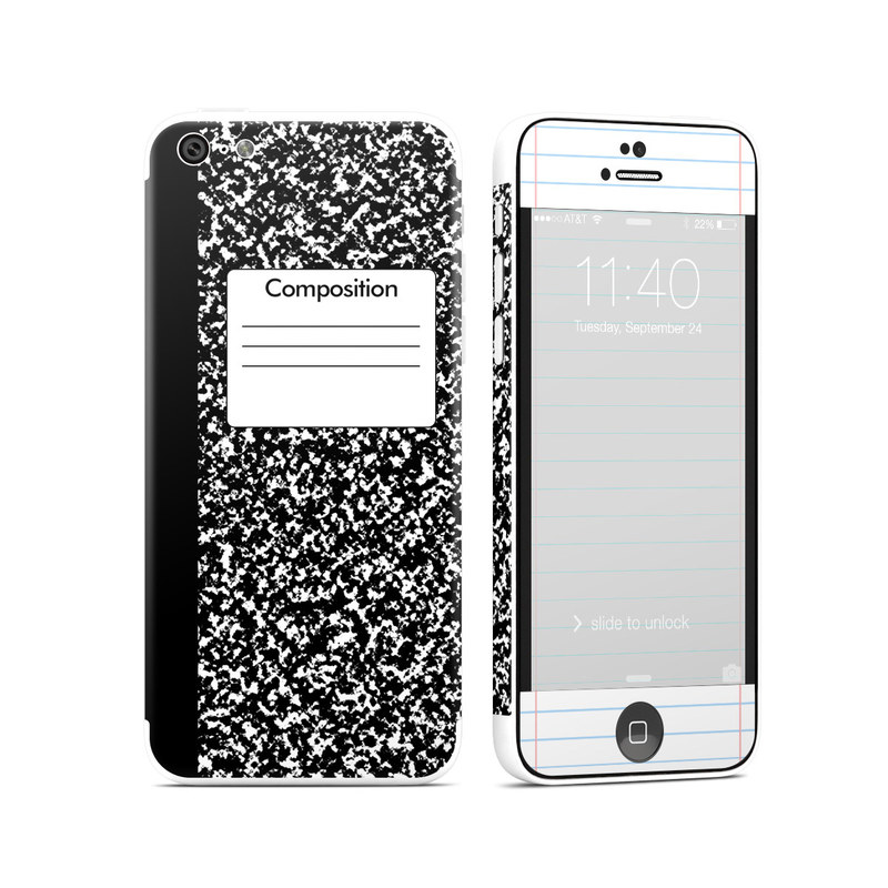 iPhone 5c Skin design of Text, Font, Line, Pattern, Black-and-white, Illustration with black, gray, white colors