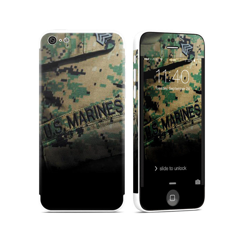 Courage iPhone 5c Skin