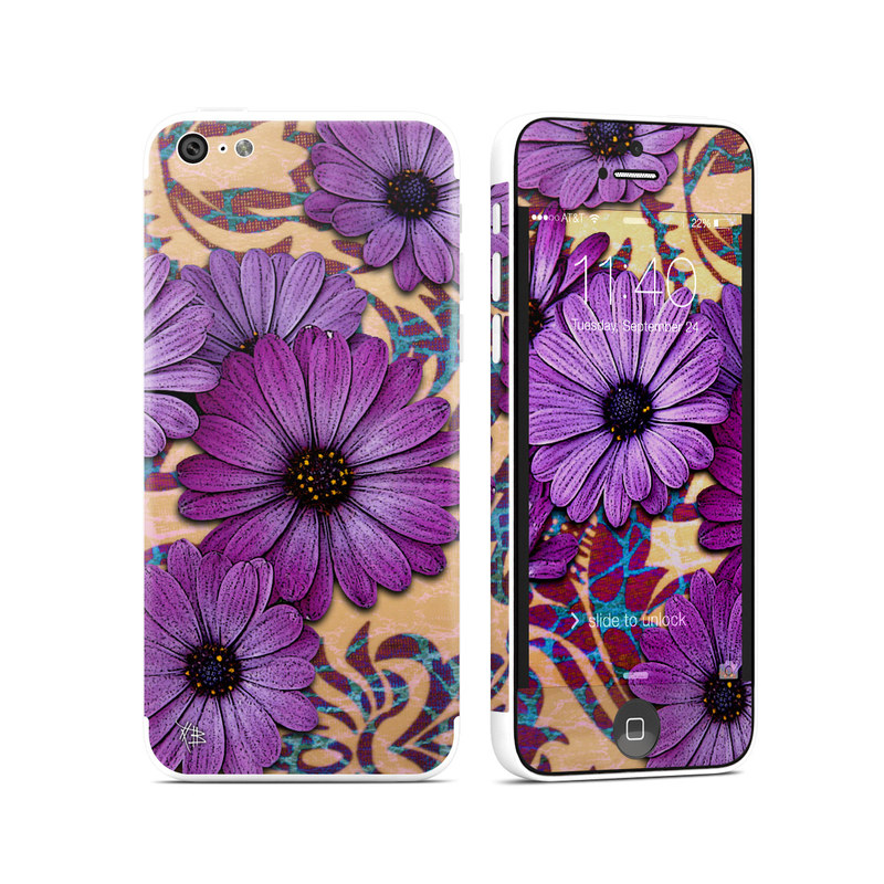 Daisy Damask iPhone 5c Skin