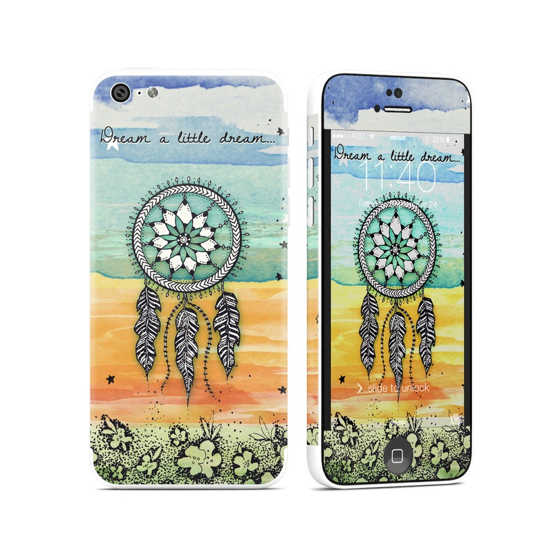 iPhone 5c Skin design of Text, Sky, Font, Illustration, Plant, Art, Wildflower, sunflower, Graphics with blue, green, yellow, orange, black colors