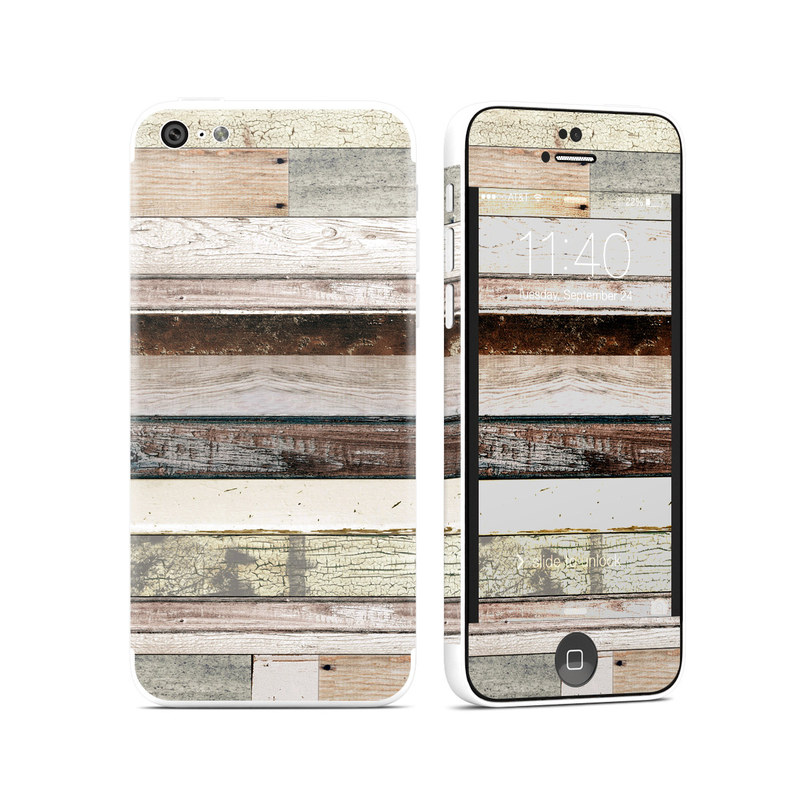 Eclectic Wood iPhone 5c Skin