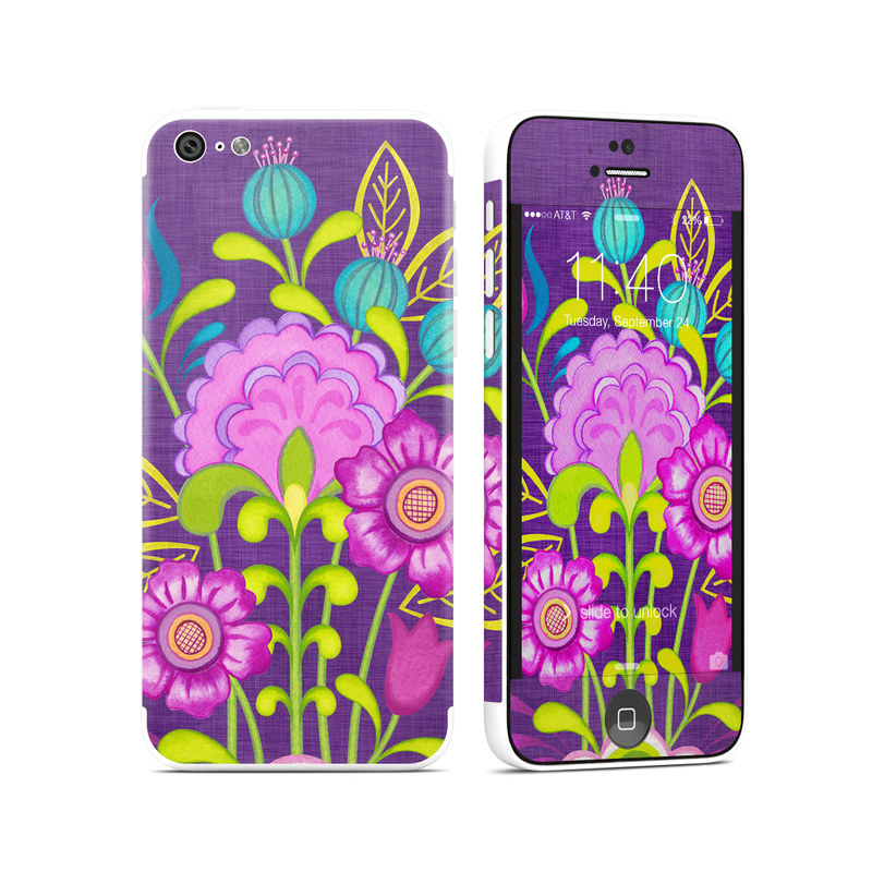 Floral Bouquet iPhone 5c Skin