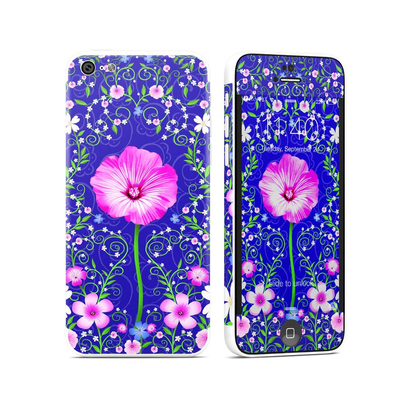 Floral Harmony iPhone 5c Skin