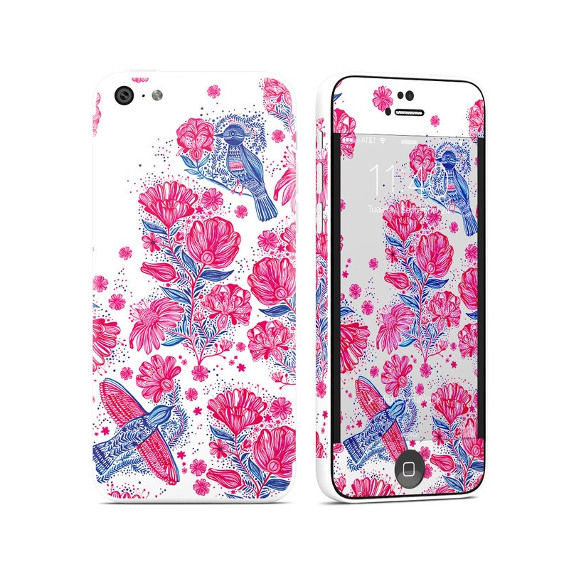 Freedom Flowers iPhone 5c Skin