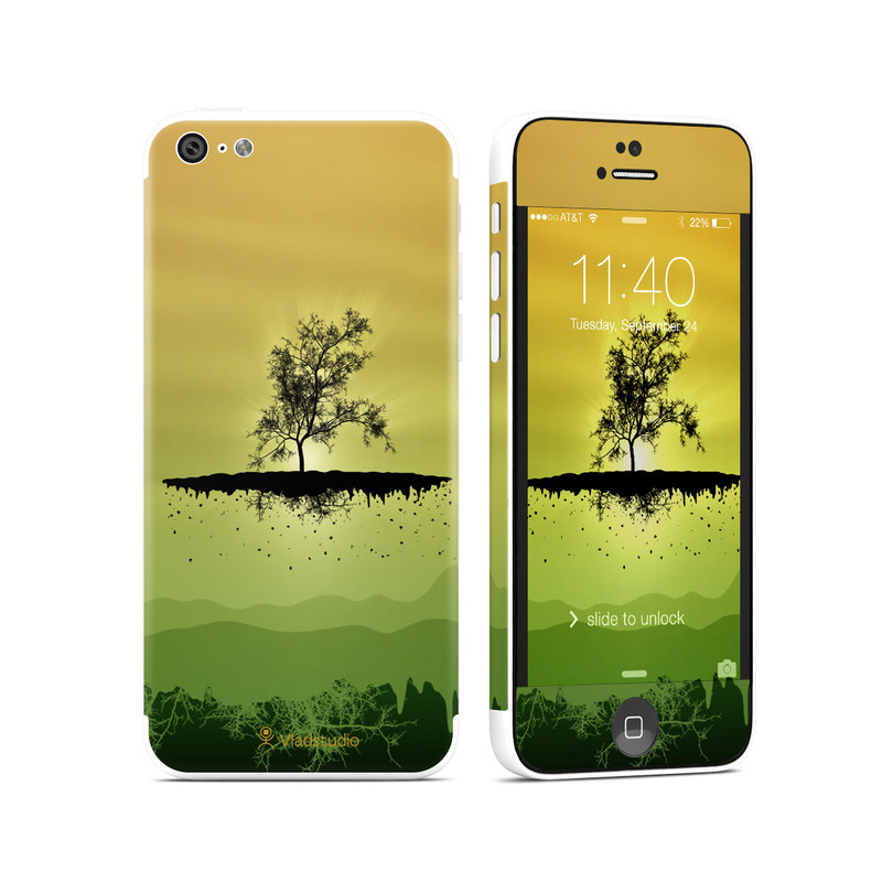 Flying Tree Amber iPhone 5c Skin