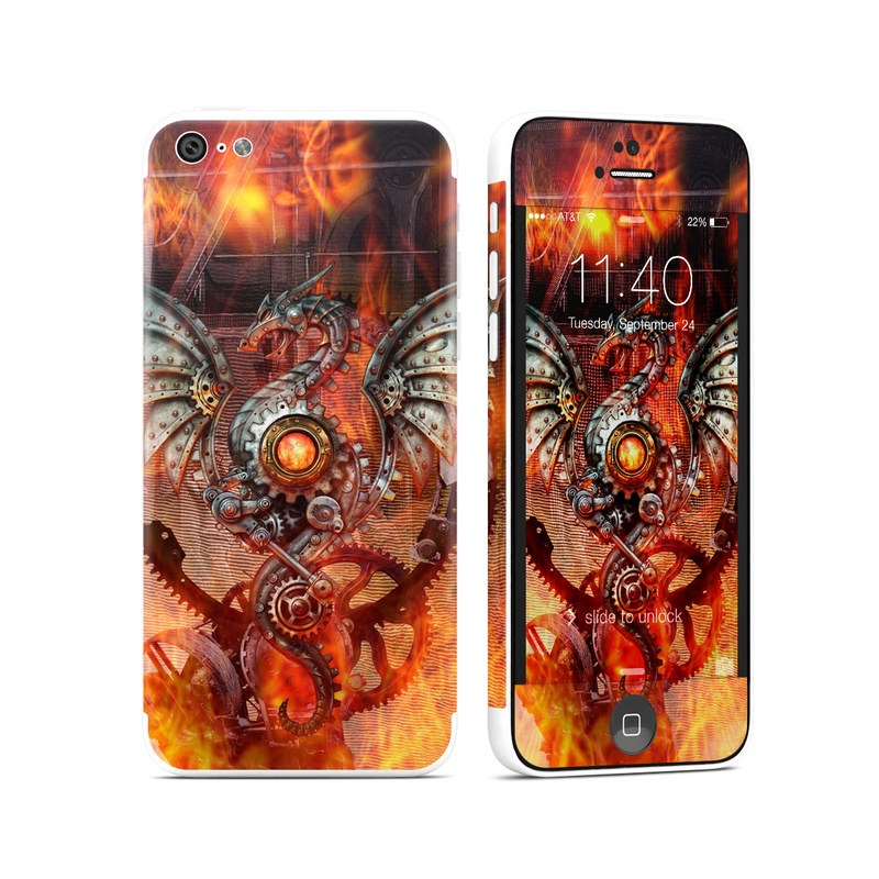 Furnace Dragon iPhone 5c Skin
