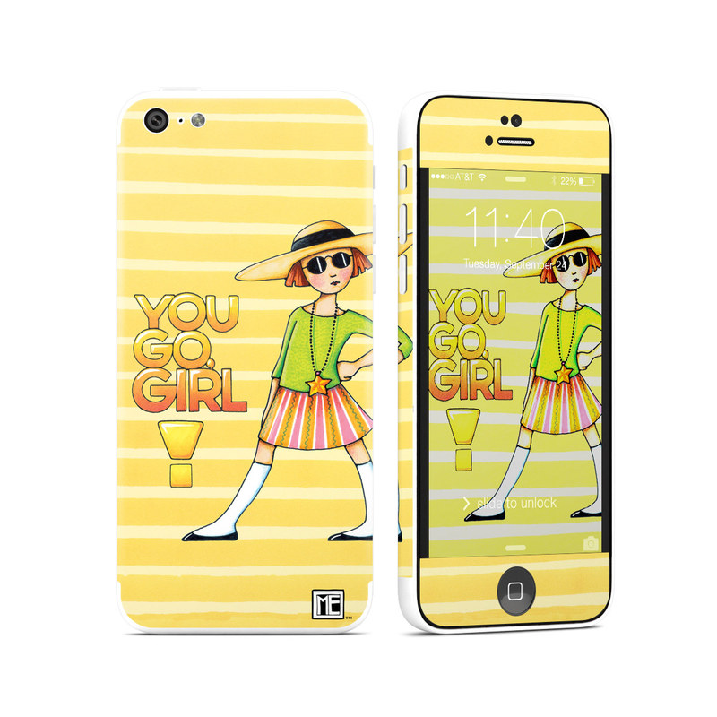 You Go Girl iPhone 5c Skin