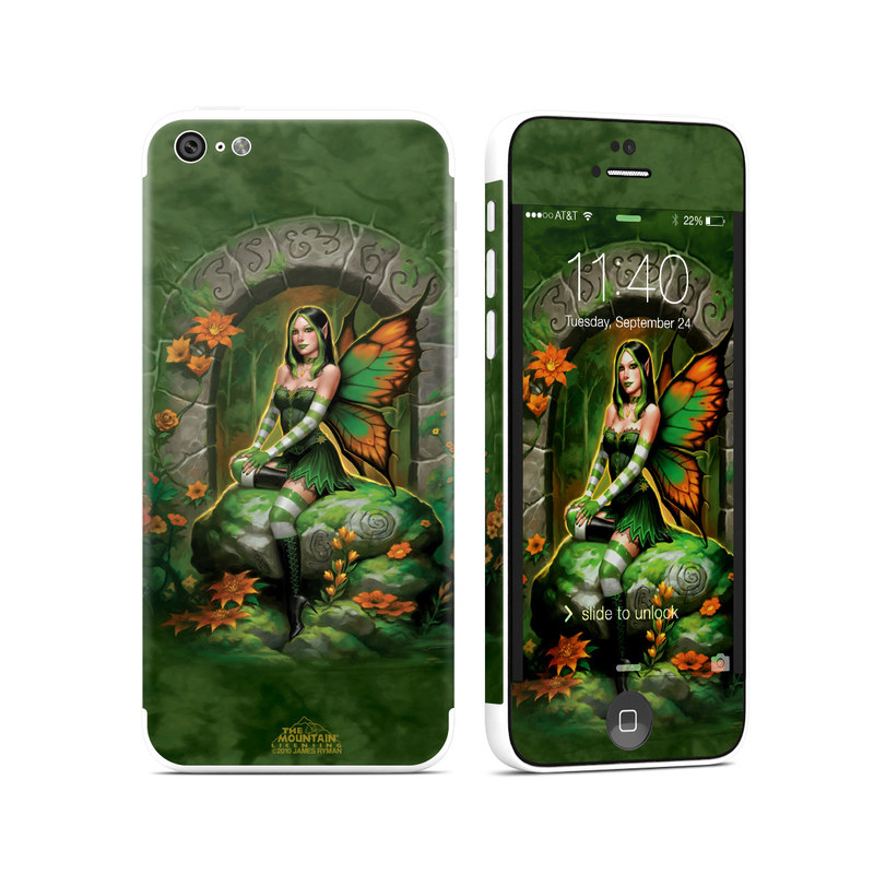 Jade Fairy iPhone 5c Skin