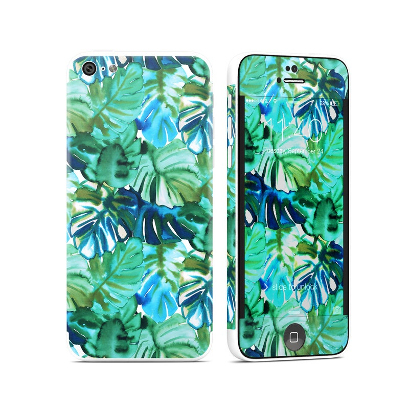 Jungle Palm iPhone 5c Skin