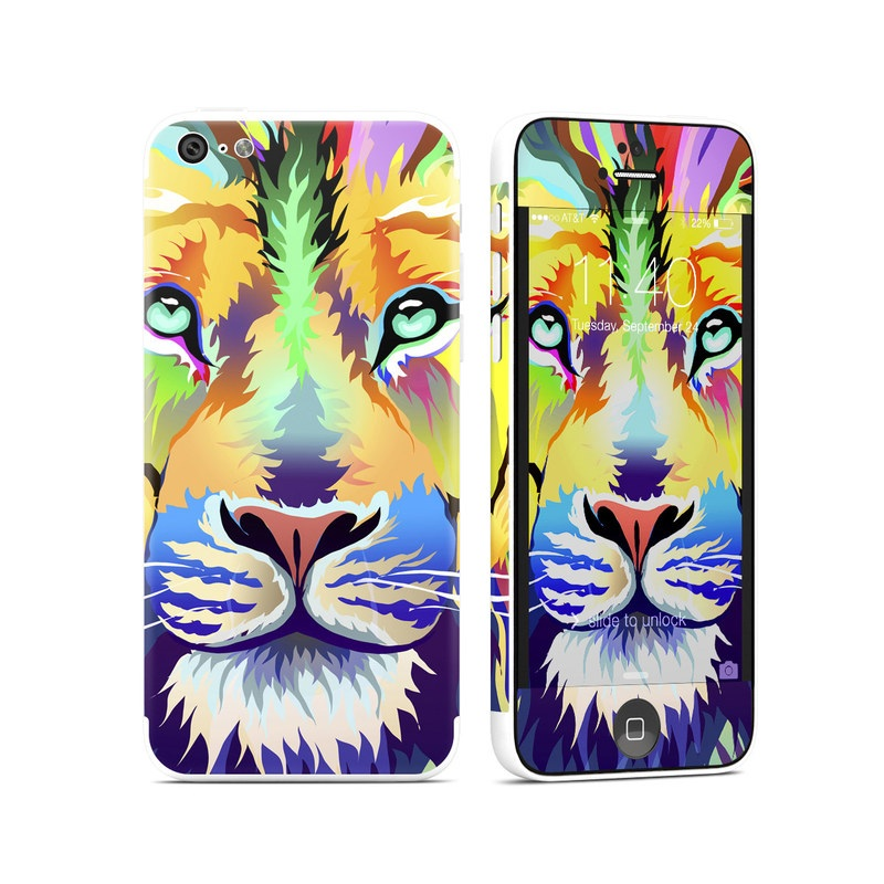 King of Technicolor iPhone 5c Skin