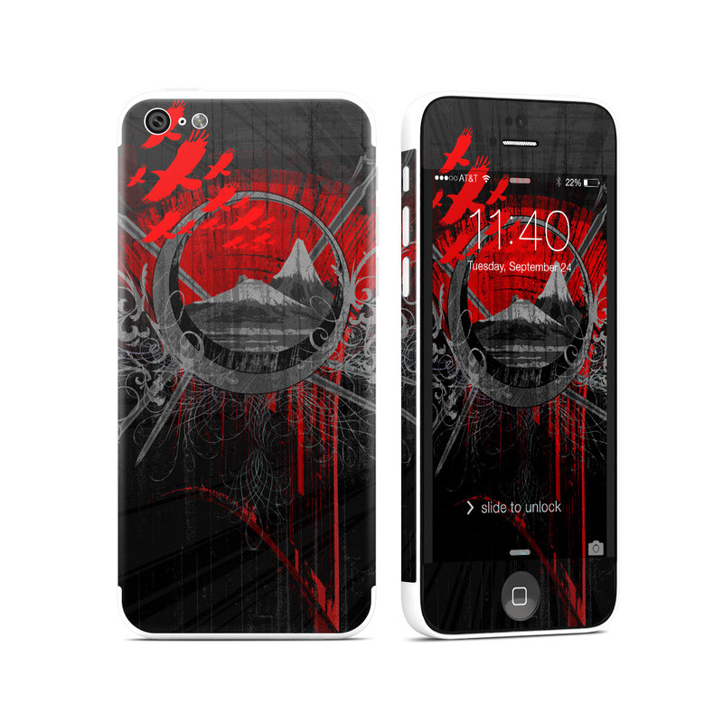 Mount Doom iPhone 5c Skin