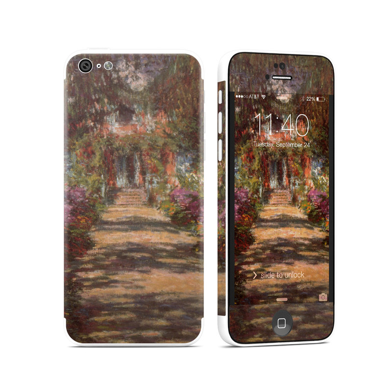 Garden at Giverny iPhone 5c Skin