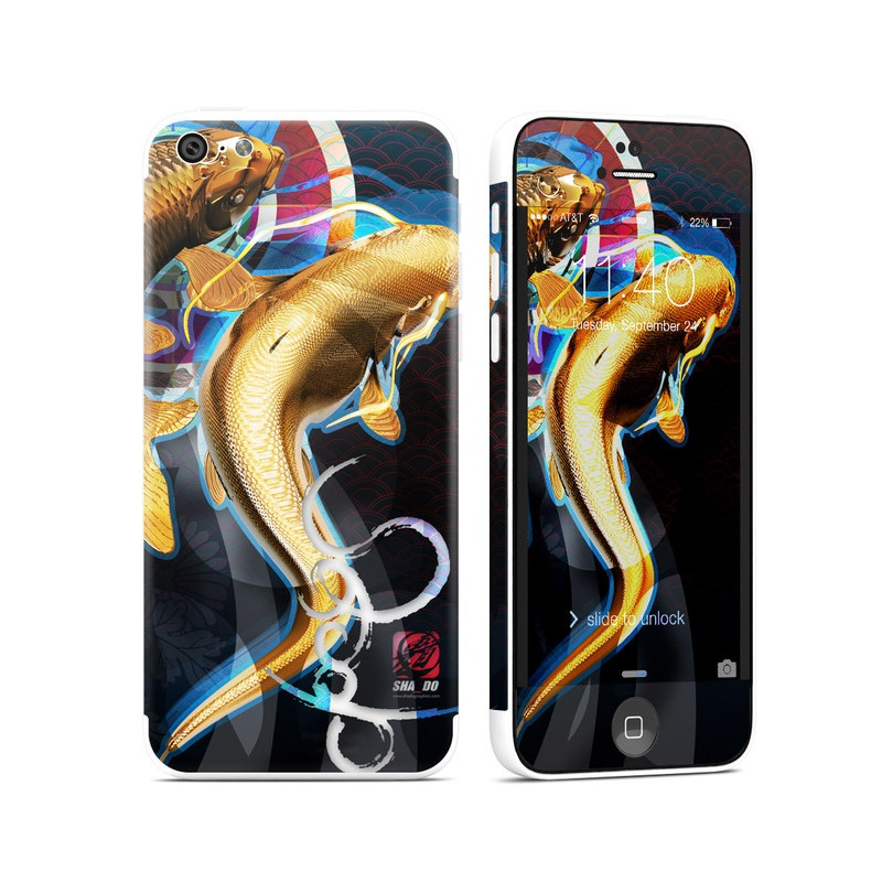 Namazu and Koi iPhone 5c Skin