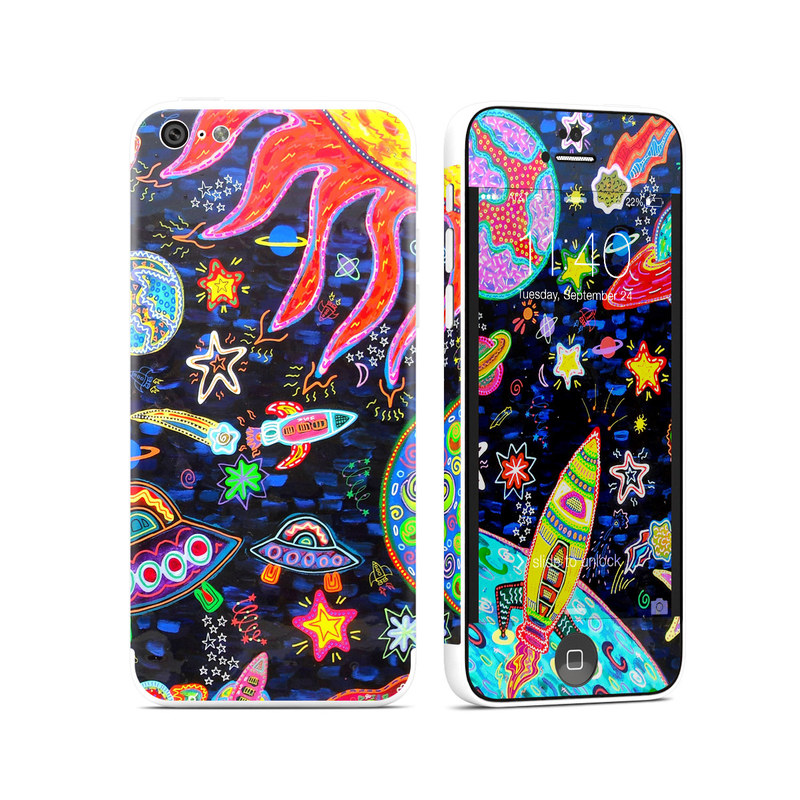 Out to Space iPhone 5c Skin