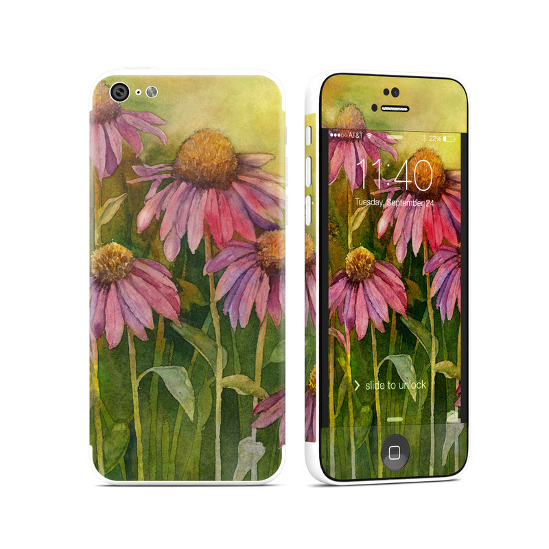 Prairie Coneflower iPhone 5c Skin