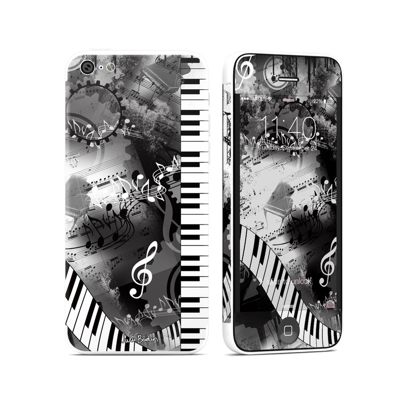 Piano Pizazz iPhone 5c Skin