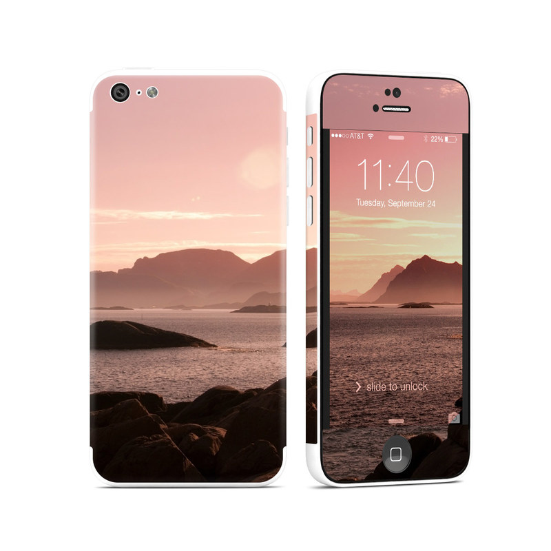 Pink Sea iPhone 5c Skin