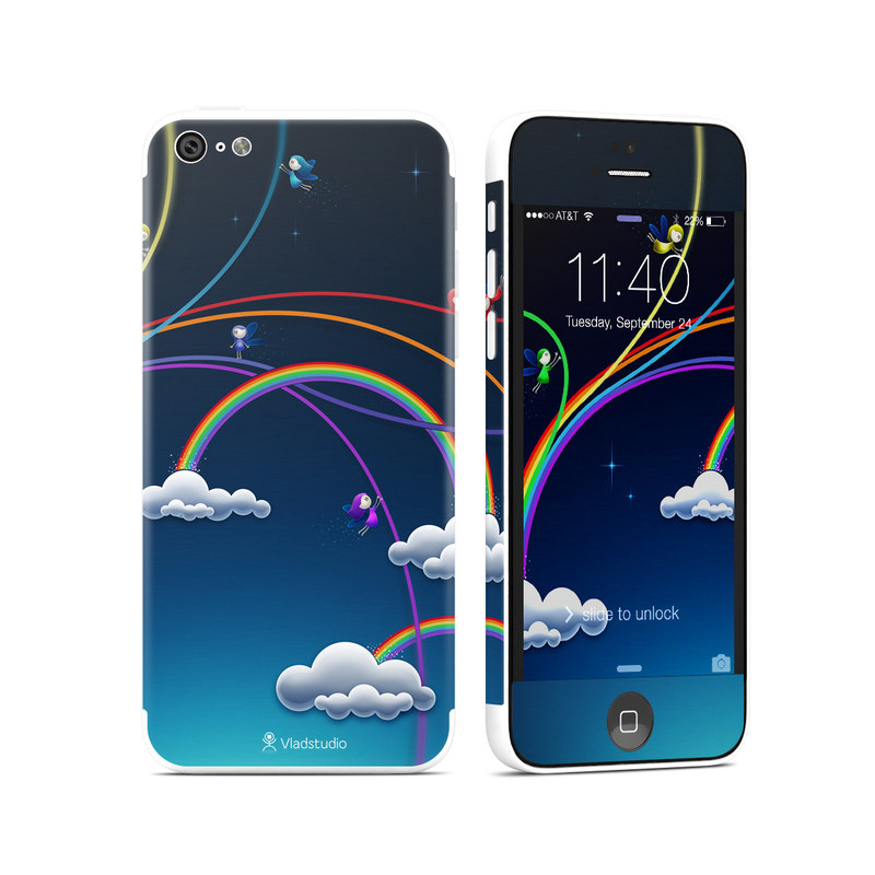 Rainbows iPhone 5c Skin
