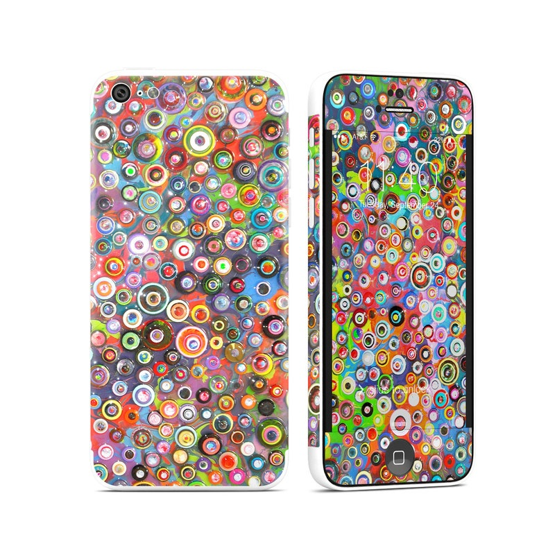 Round and Round iPhone 5c Skin
