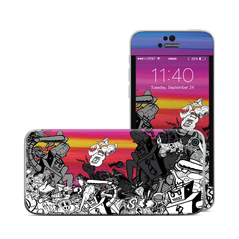 Robo Fight iPhone 5c Skin