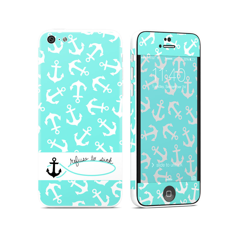 Refuse to Sink iPhone 5c Skin