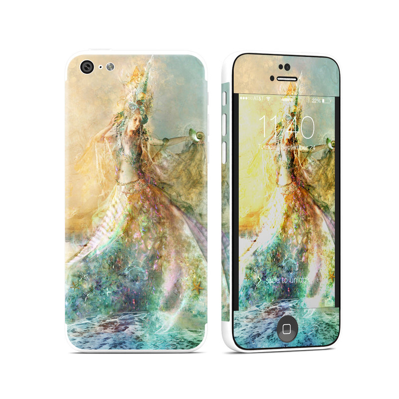 The Shell Maiden iPhone 5c Skin