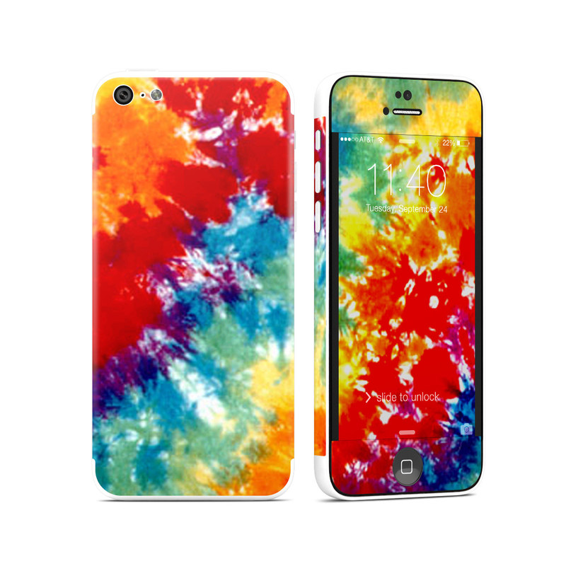 Tie Dyed iPhone 5c Skin