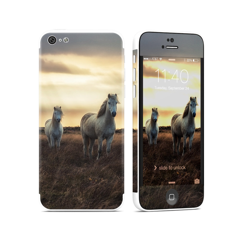 Hornless Unicorns iPhone 5c Skin