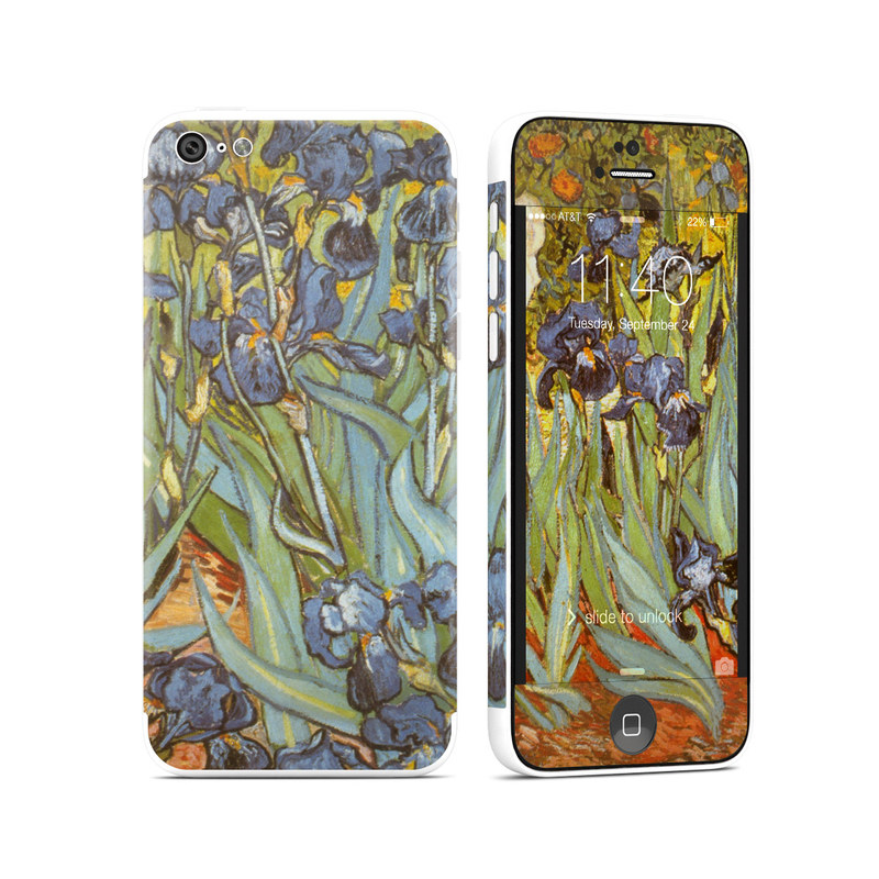 Irises iPhone 5c Skin
