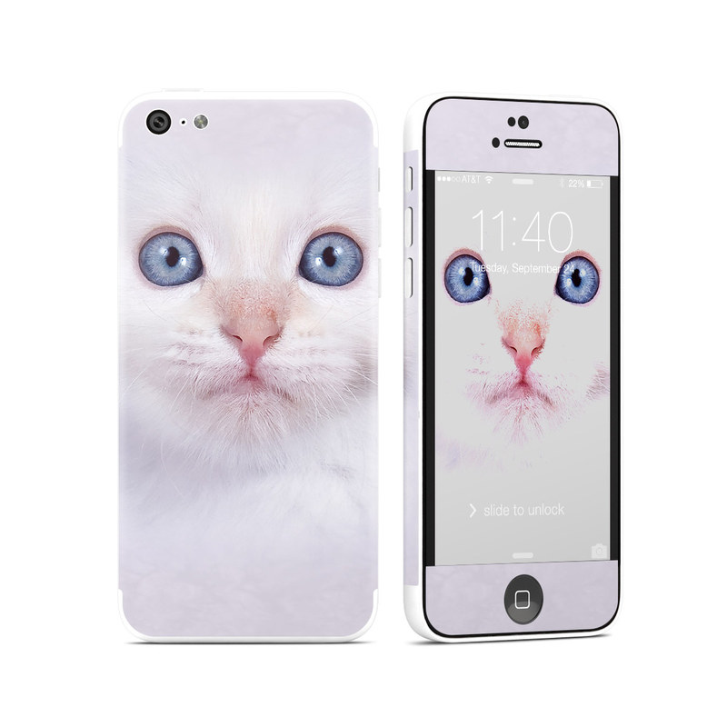 White Kitty iPhone 5c Skin