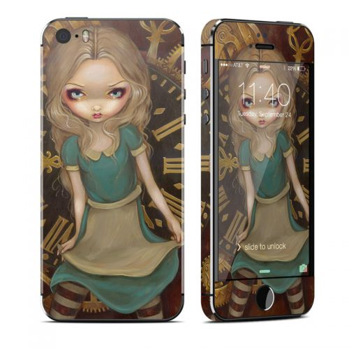 Alice Clockwork iPhone SE, 5s Skin