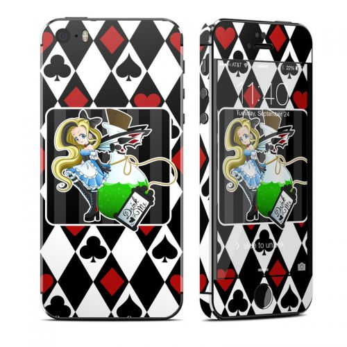 Alice iPhone SE, 5s Skin