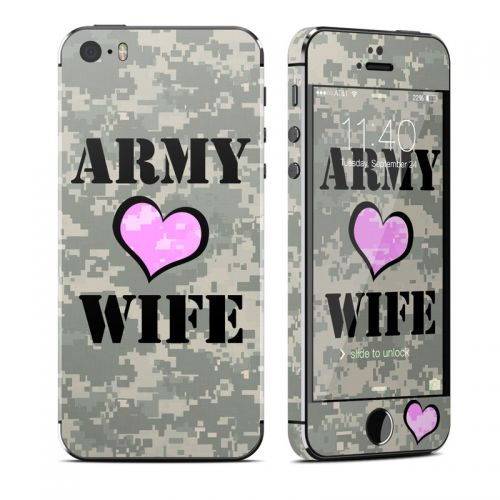 Army Wife iPhone SE, 5s Skin